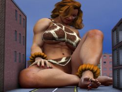 muscle giantess